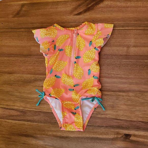 Cat Unicorn All-Over Print Kids Swimsuit